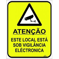 Placa video vigilância...