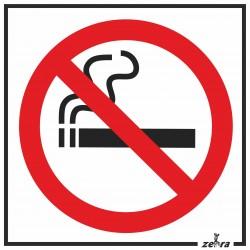 Placa Proíbido Fumar...