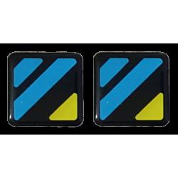2 Monogramas Stickers...