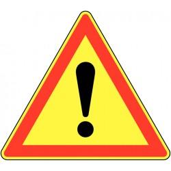 Placa de Sinalização Perigo...