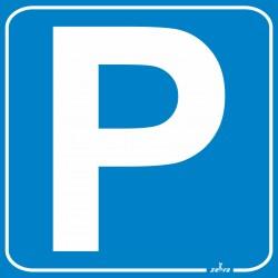 Placa Sinal Parque para...
